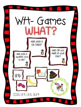 WH- Games: WHAT Questions
