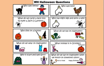 """""""WH"""" Halloween Questions"""