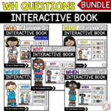 Distance Learning | WH-Questions Interactive Book BUNDLE