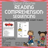 Reading Comprehension Basic Sequencing FALL STORIES