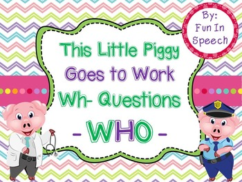 WH- Question Activity Pack for WHO