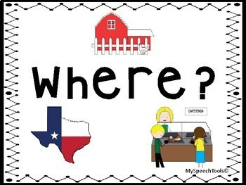 WH-Question Anchor Charts  FREEBIE!