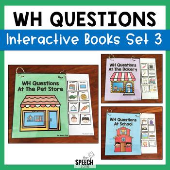 WH Question Book Bundle 3