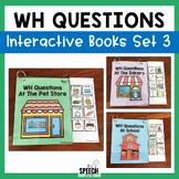 WH Questions Books - Set 3