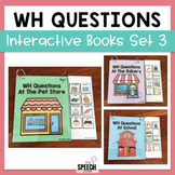 WH Questions Books - Set 3