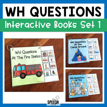 WH Questions Books - Set 1