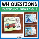 WH Questions Books - Set 1