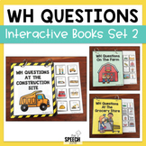 Interactive WH Question Books - Set 2