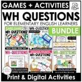Answering WH Questions :Who, What, When, Where, Why | Prin