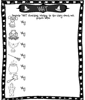 """""""WH"""" Question Development for Room on the Broom"""