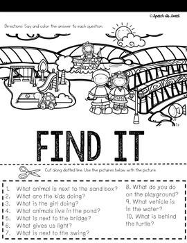 WH Question Flip Books