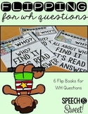 WH Question Flip Books