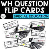 WH Question Flip Cards