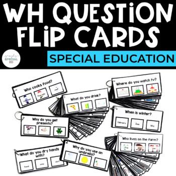 WH Question Flip Cards