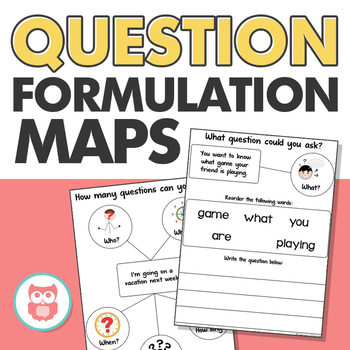 Question Formulation Maps - Targets Grammar, Language, and Social Skills