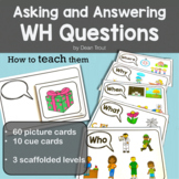 Asking and Answering WH Questions | Speech Therapy