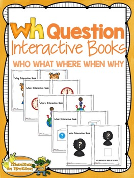 WH Question Interactive Books
