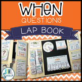 When Questions Lap Book - A Language Lap Book for WH Questions
