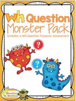 WH Question Monster Pack