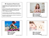 WH Question Photo Cards
