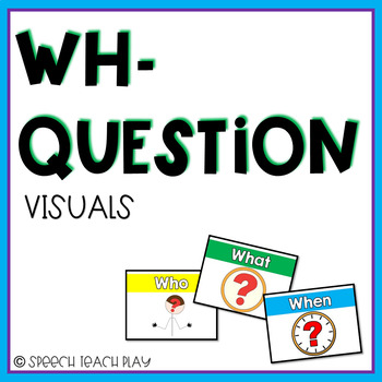 WH- Question Posters