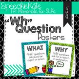WH Question Posters **Part of Larger Mega Bundle!
