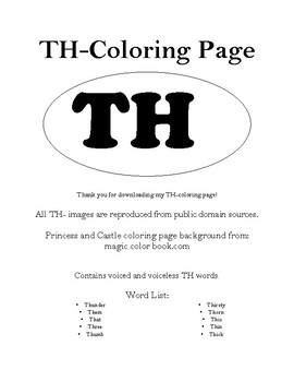 TH-Coloring Page
