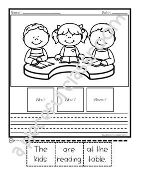 WH Question Sentence Building (Level 4)