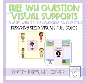 'WH' Question - Visual Supports for Children with Autism or Special Needs