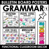 WH Question Word Posters / Verb Tense Posters : ESL Gramma