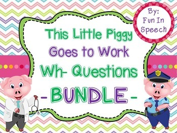 WH- Questions Bundle (Who, What, Where, Why, and When)