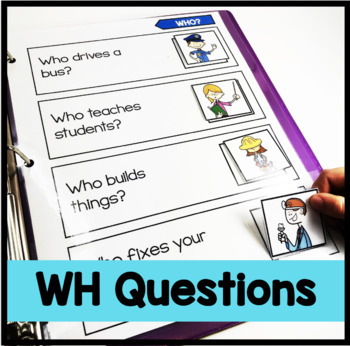 WH Questions Adapted Binder