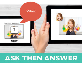 WH Questions: Asking Questions Series BUNDLE