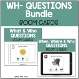 50 WH Questions BOOM Cards – Who, What, When, Where, & Why