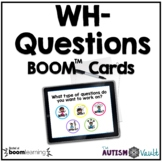WH- Questions BOOM™ Task Cards Bundle