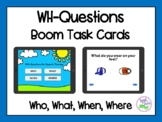 WH-Questions Boom Cards