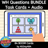 WH Questions Boom Cards Who, What, Where, When, Why Questi