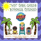 WH Questions Boom Cards - Summer Themed