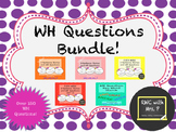 WH Questions Bundle - 1 & 2 Sentence Listening Comprehension