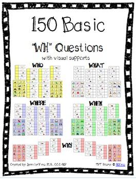 WH Questions Bundle