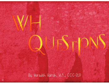 WH Questions Cards
