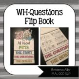 WH-Questions Flip Book