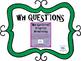 WH Questions: Green Shamrocks