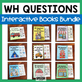 WH Questions Interactive Books Bundle