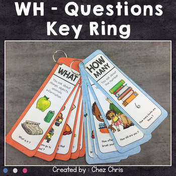 WH- Questions - Key Ring