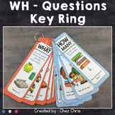 WH Questions Key Ring : 14 question words