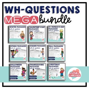 WH-Questions MEGA Bundle