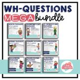 WH-Questions MEGA Bundle--Distance Learning