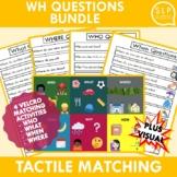 WH Questions Activity Bundle