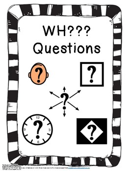 WH Questions Pack